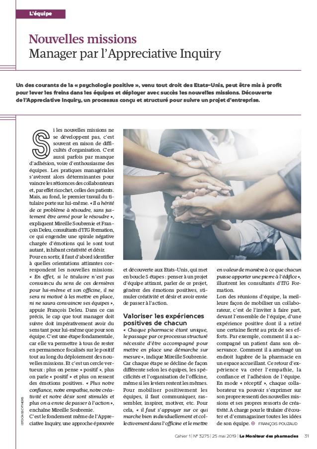 Le Moniteur des Pharmacies 250519